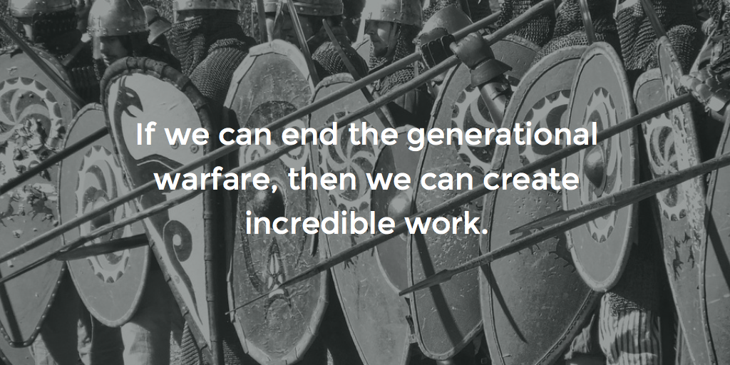 Let's End Generational Warfare