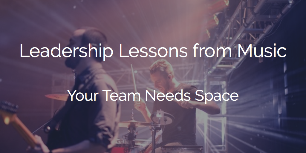 Why Your Team Needs Space to Succeed
